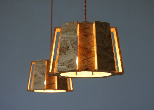 Hanglamp hout